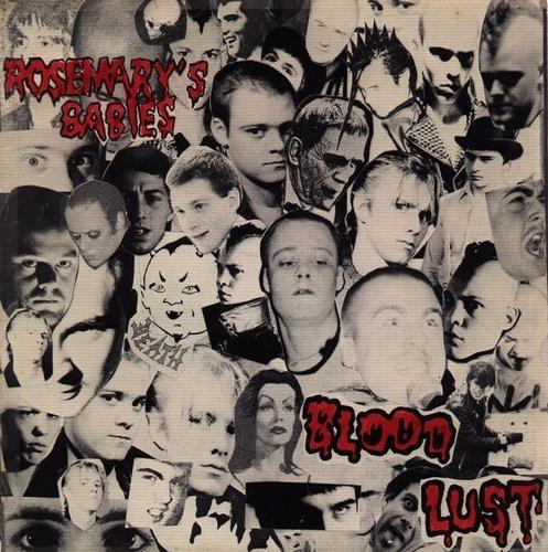 Blood Lust 7 inch EP by Rosemary's Babies. Image courtesy 1.3.8